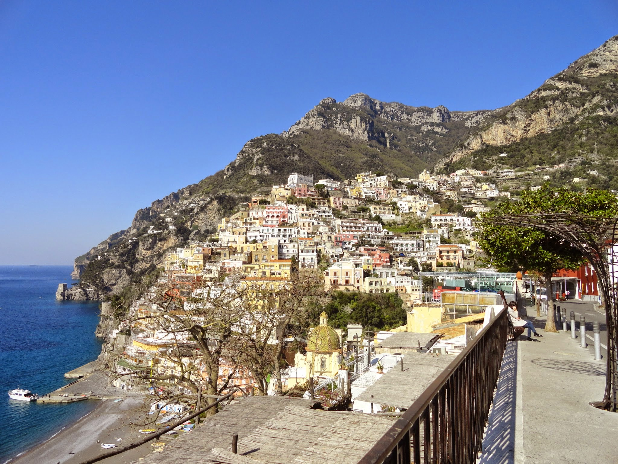 Visit Positano while staying in Sorrento, Italy. ouritalianjourney.com