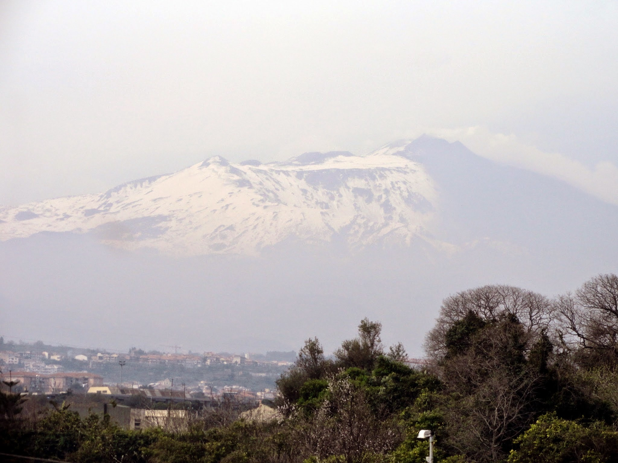 Mt. Etna is located in Sicily, Italy. ouritalianjourney