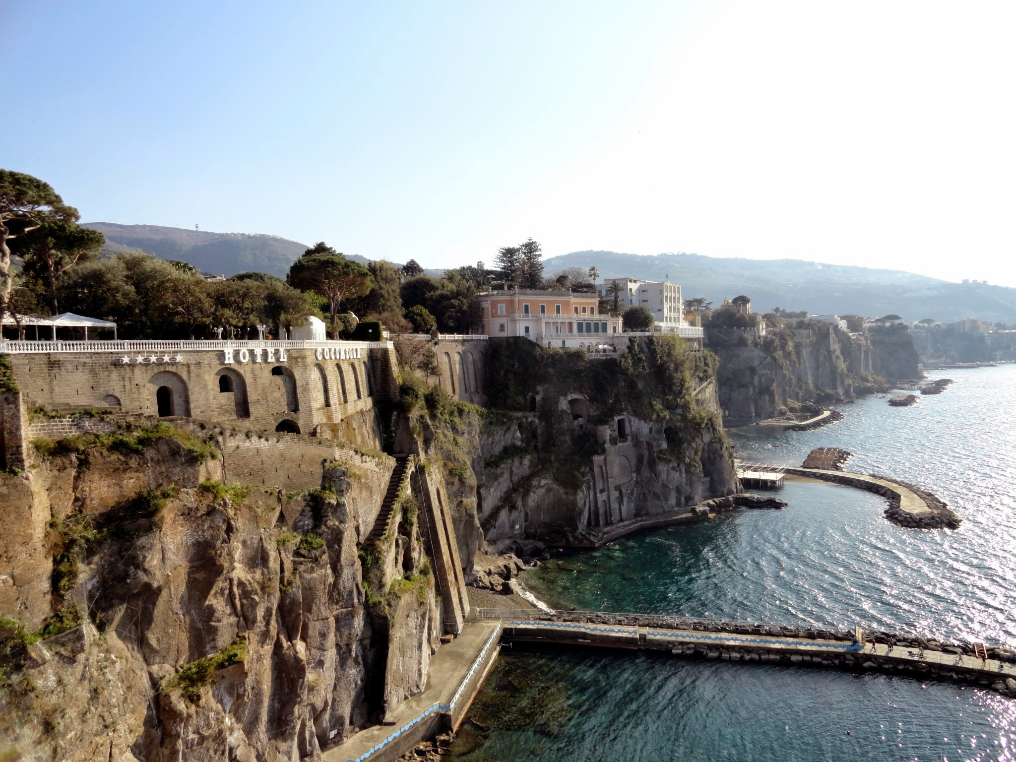 Town of Sorrento, Italy is beautiful. ouritalianjourney.com