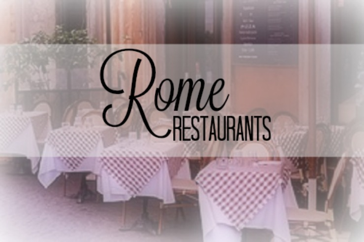 rome restaurant graphic