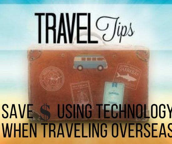 save money using technology when traveling. ouritalianjourney.com