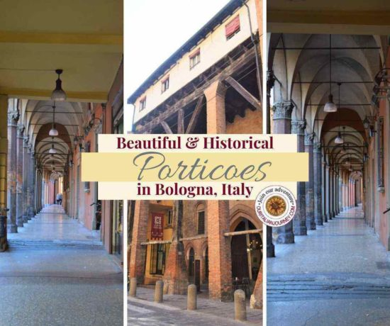 Historical porticoes in Bologna Italy. ouritalianjourney.com https://ouritalianjourney.com/beautiful-porticoes-bologna