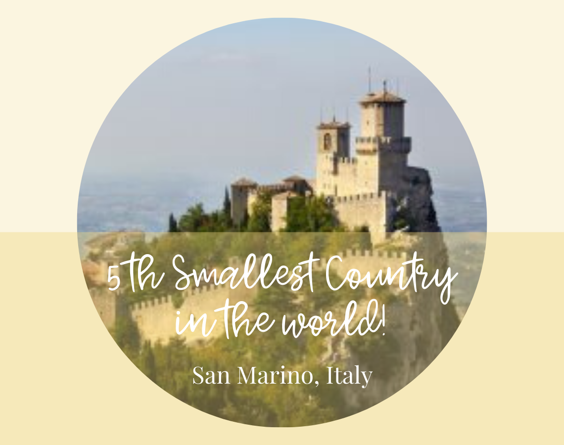 5th smallest country in the world, sanmarinoitaly, ouritalianjourney.com