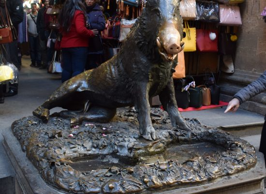 Bronze Wild Boar, Florence, Italy