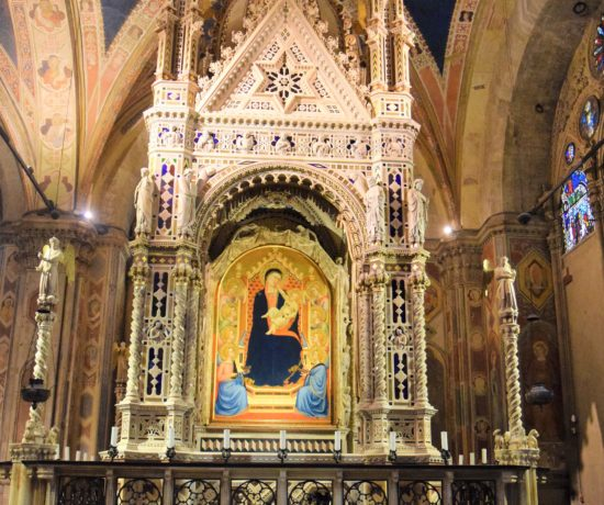 Church and museum Orsanmichele