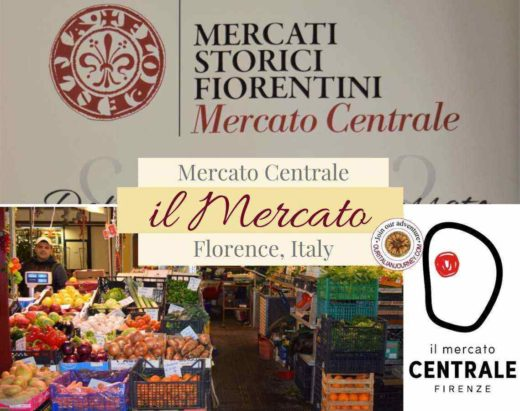 il Mercato in Florence, Italy; must visit market for everyone ouritalianjourney.com