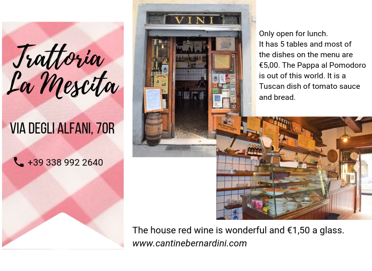Florence recommended restaurant, ouritalianjourney.com