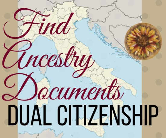 finding your ancestry documents for dual citizenship with Italy. ouritalianjourney.com
