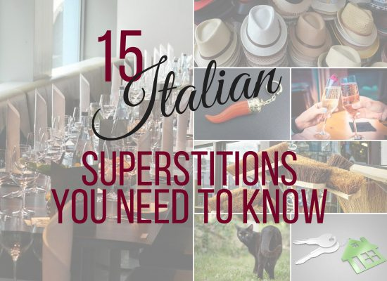 Italian superstitions with ouritalianjourney.com