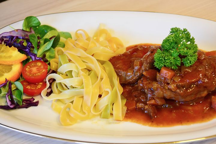 OssoBuco is tender veal shanks and is amazing. ouritalainjourney.com