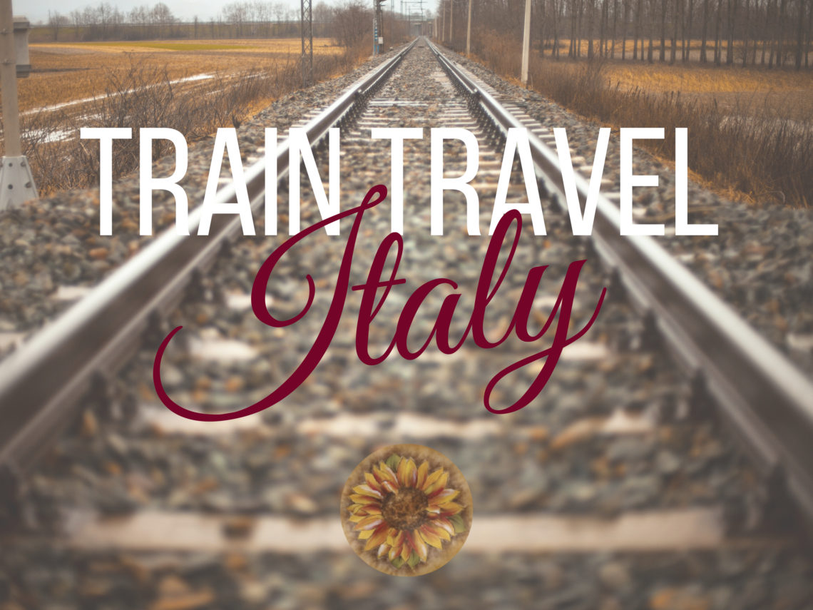 3 train options in Italy. ouritalianjourney.com