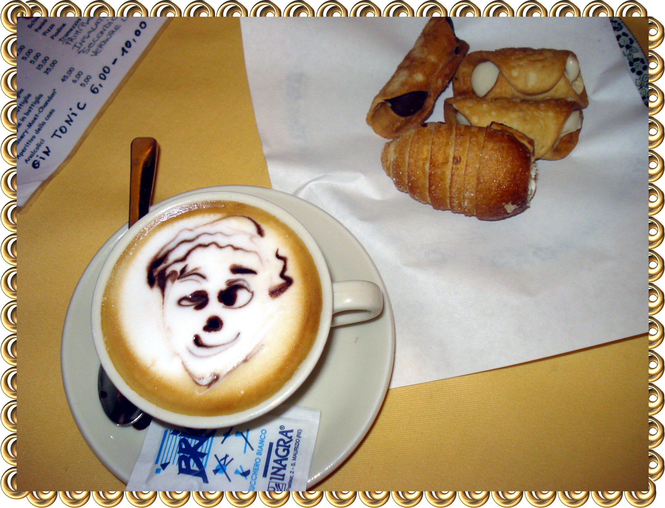 how to order and enjoy coffee in italy. ouritalianjourney.com