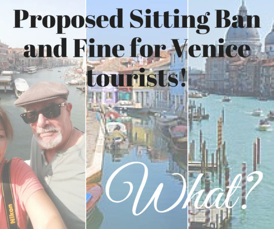 proposed sitting ban and fine for venice tourists. ouritalianjourney.com