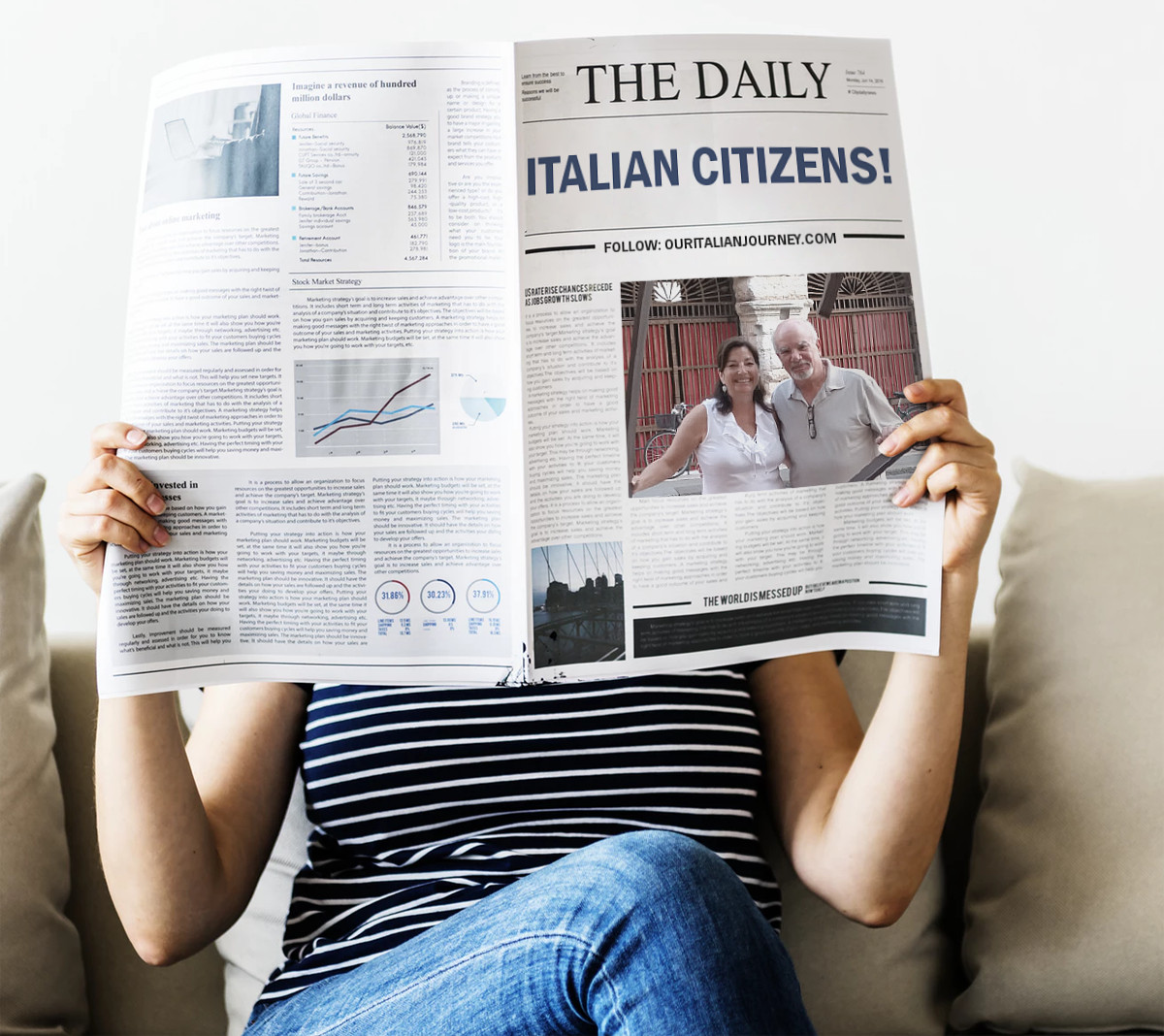 citizenship and passport, ouritalianjourney.com