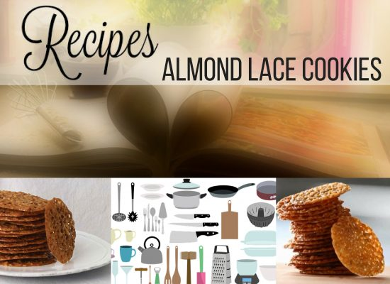 almond lace cookies; ouritalianjourney.com