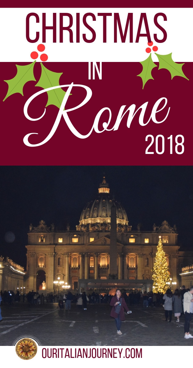 Christmas in Rome 2018, ouritalianjourney.com