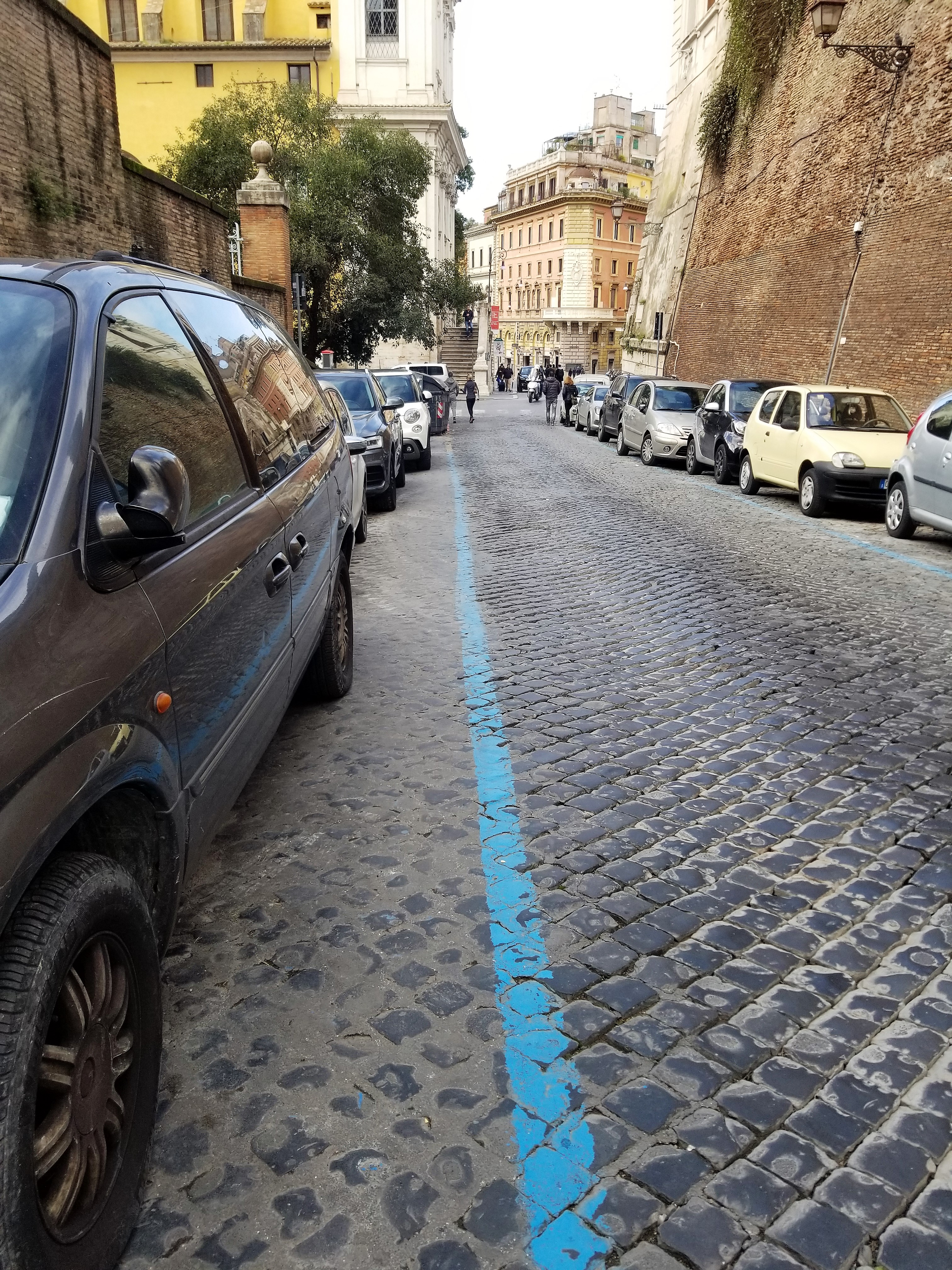 Parking in Rome; ouritalianjourney.com