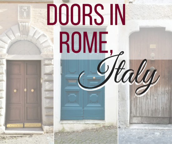 Wooden doors of Rome, Italy; ouritalianjourney.com