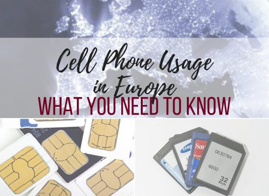 cell phone usage in Europe, what you need to know, ouritalianjourney.com