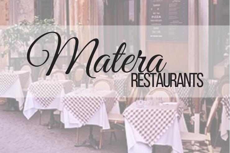 restaurant recommendation when in Matera, Italy. ouritalianjourney.com