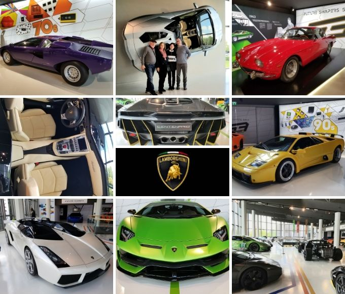 We visited 3 Iconic Italian Sports Car museums and factories in Modena and Bologna. Lamborghini, Pagani, and Masereti, ouritalianjourney.com https://ouritalianjourney.com/3-iconic-beautiful-italian-sports-cars-incredible-day