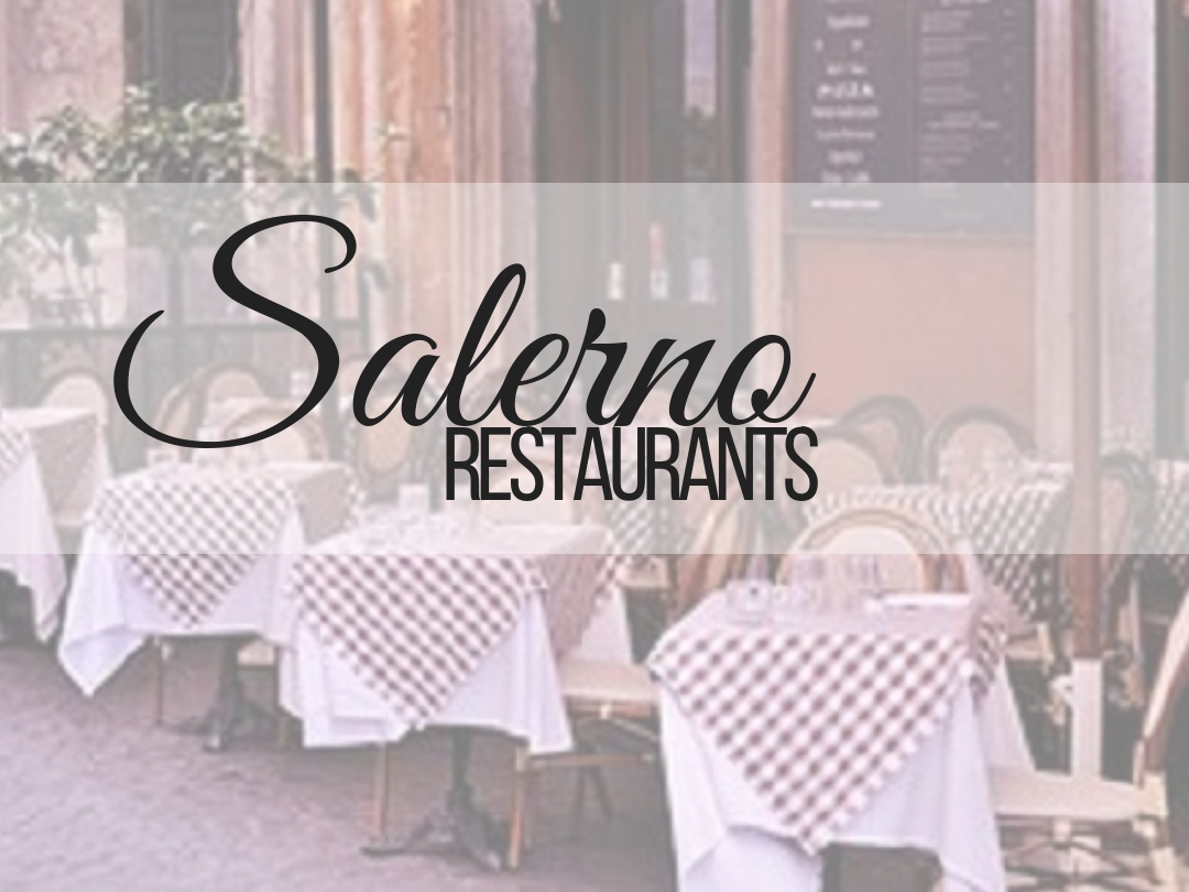 Salerno, Italy restaurant recommendation especially for fresh fish. Easy to find and great staff