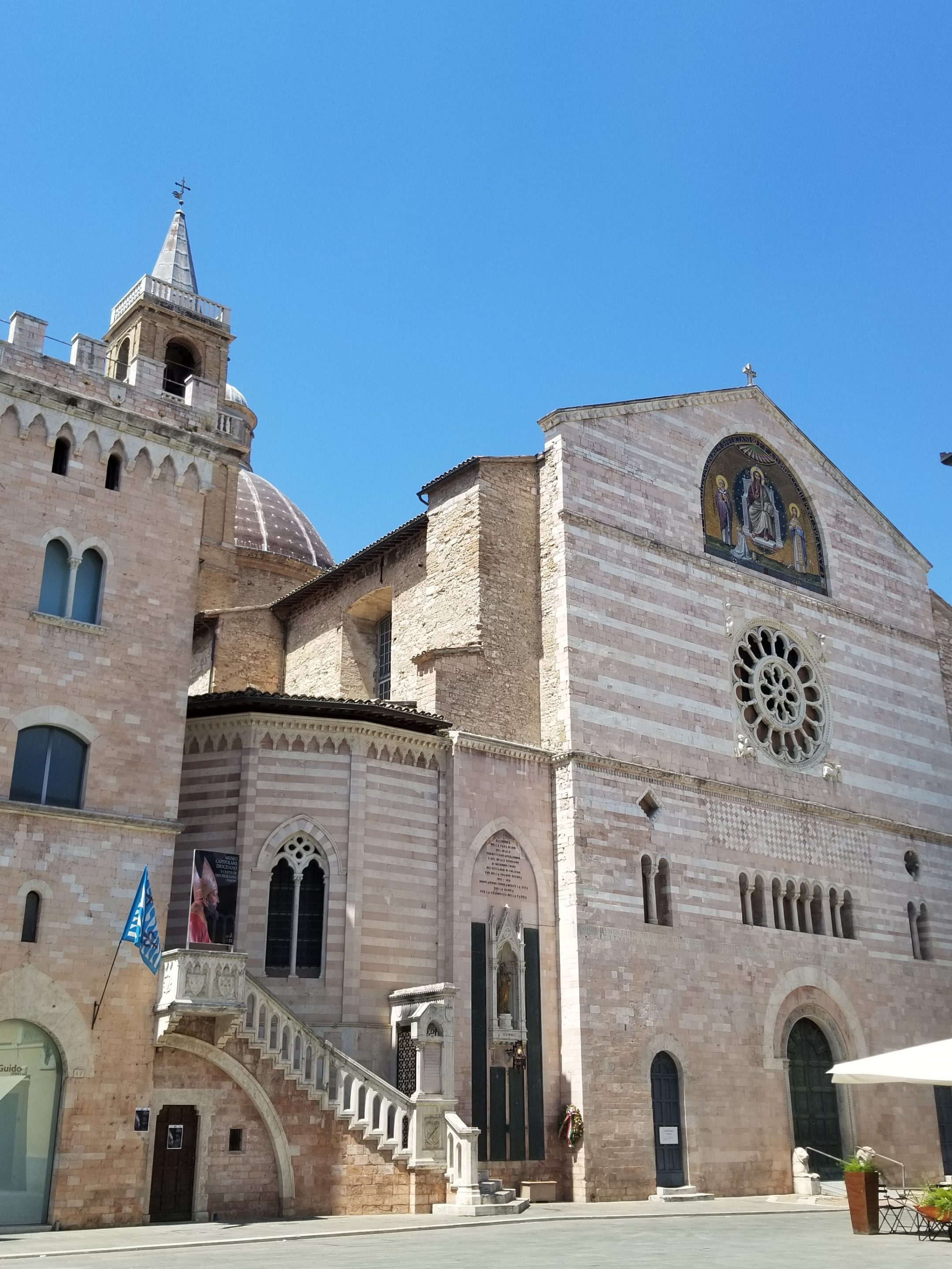Foligno, Italy - A beautiful medieval town in Umbria. https://ouritalianjourney.com/foligno-italy-wonderful-month-in-umbria