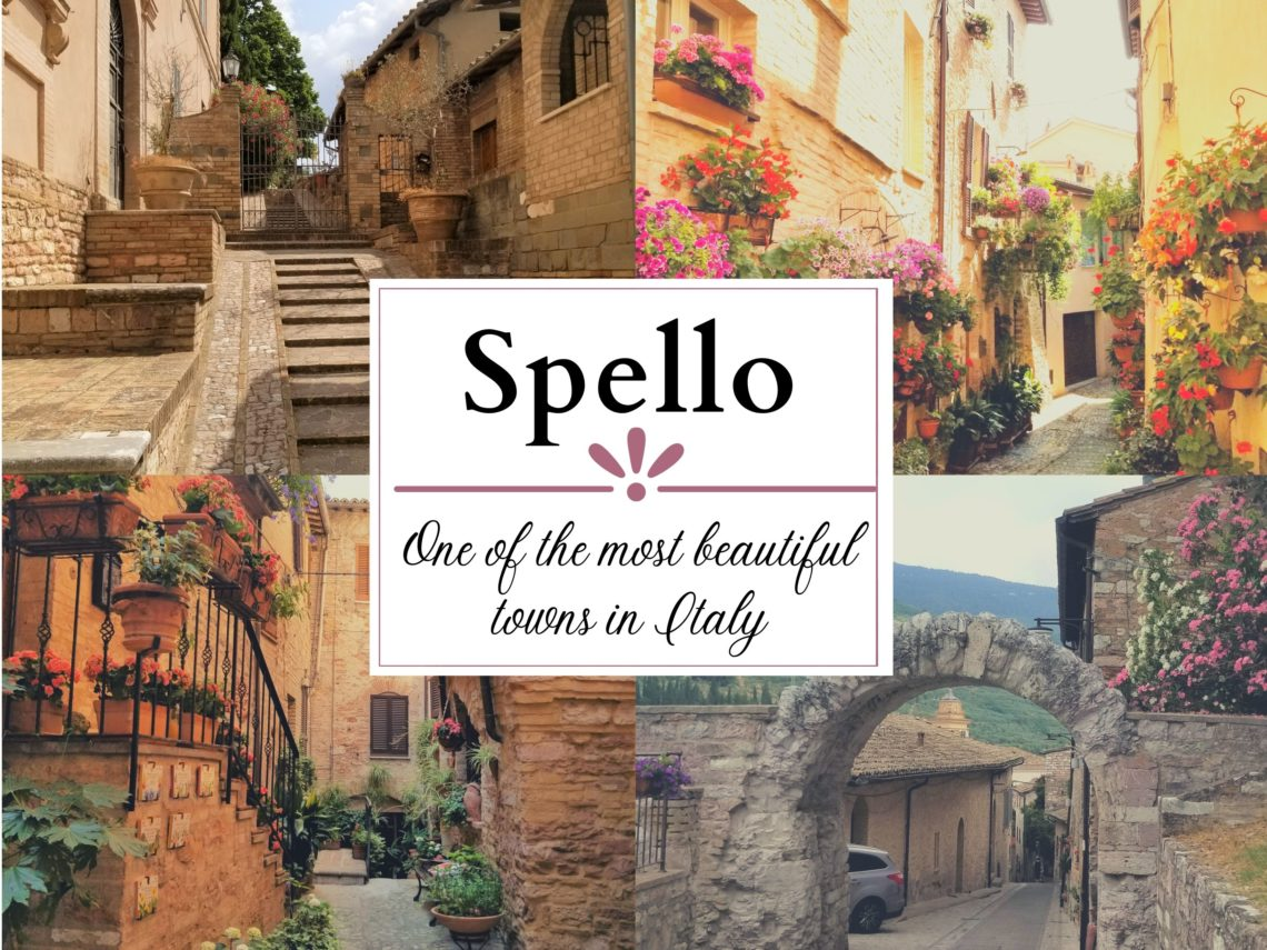 Spello is one of the most beautiful towns in Italy. The flower balconies and streets are a photographers dream. Corpus Domini, https://www.ouritalianjourney.com/spello-one-of-the-most-beautiful-towns-in-italy