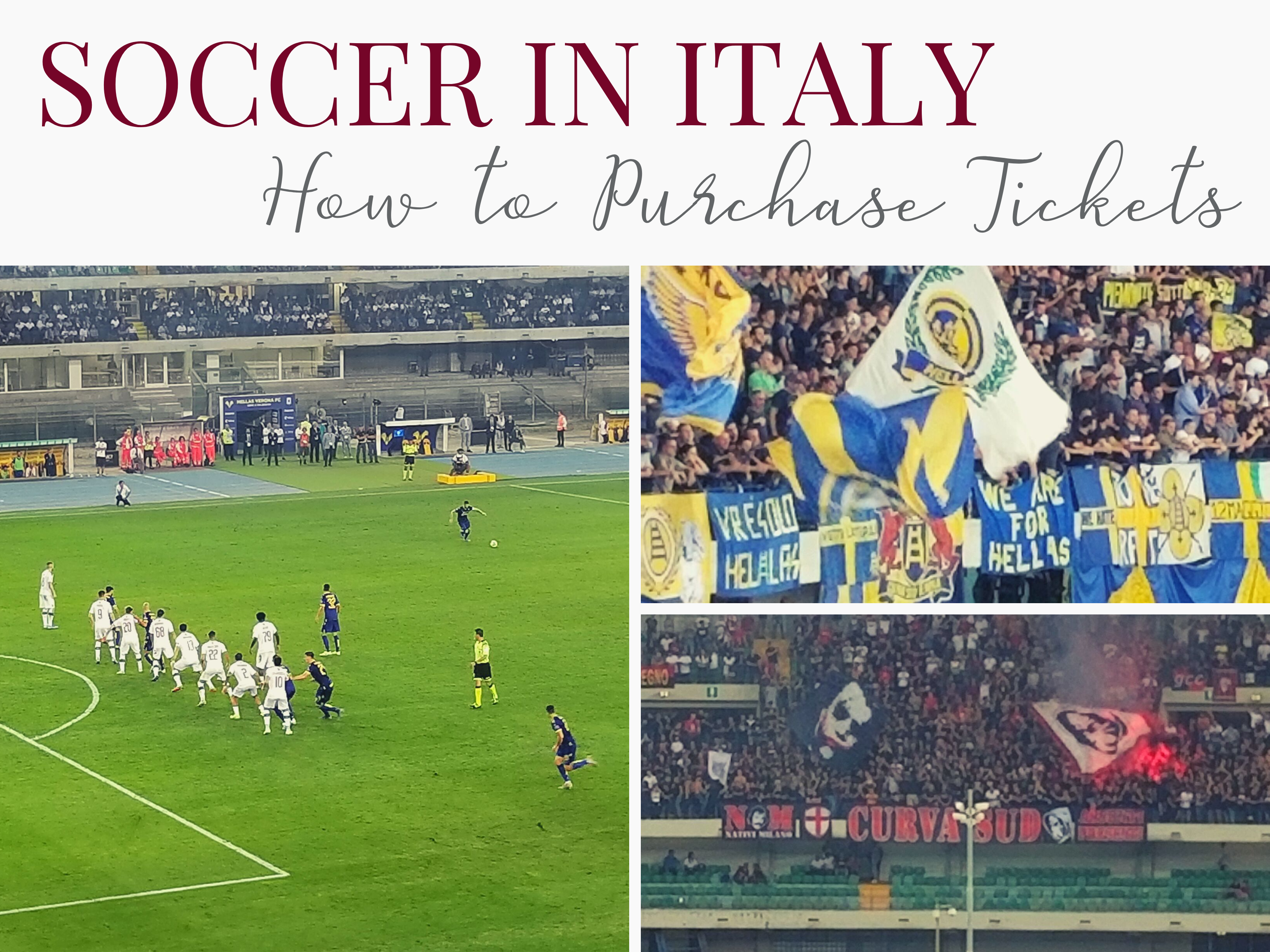 Attended a Serie A soccer game in Italy. AC Milan vs Hellas Verona. https://ouritalianjourney.com/soccer-in-italy-how-to-purchase-tickets