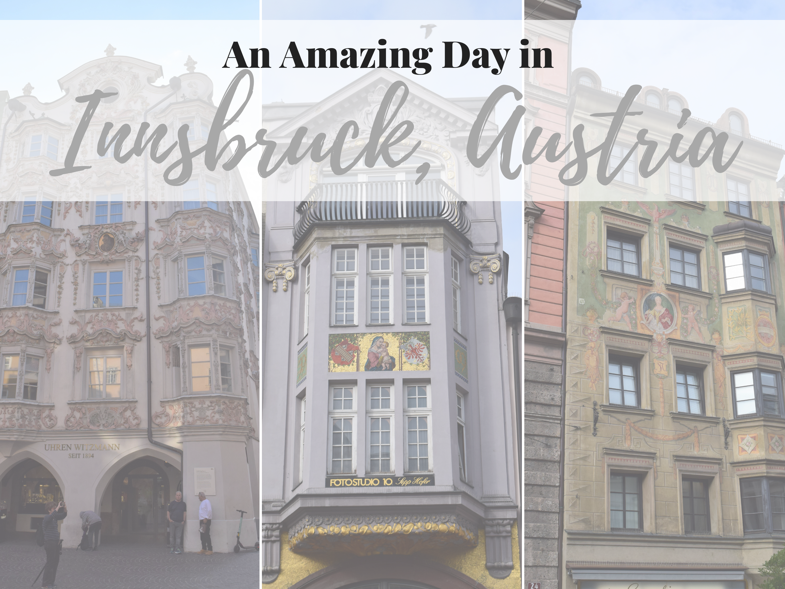 Innsbruck, Austria is beautiful. A must see on a stop to the Alps and in the Tyrol area. ouritalianjourney.com