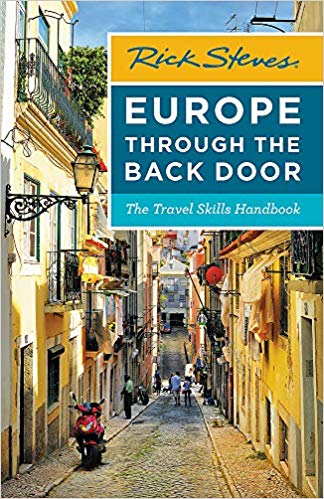 Rick Steves Europe Through the Back Door updated version for traveling in Italy and Europe. Great travel information. ouritalianjourney.com