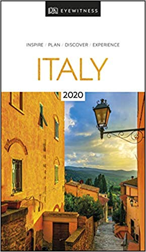 DK Eyewitness Italy 2020 travel book. Fantastic information for traveling. ouritalianjourney.com