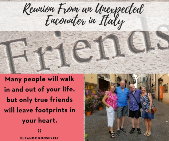 A reunion of friends made in Italy, https://ouritalianjourney.com/reunion-from-a-social media-encounter-in-italy
