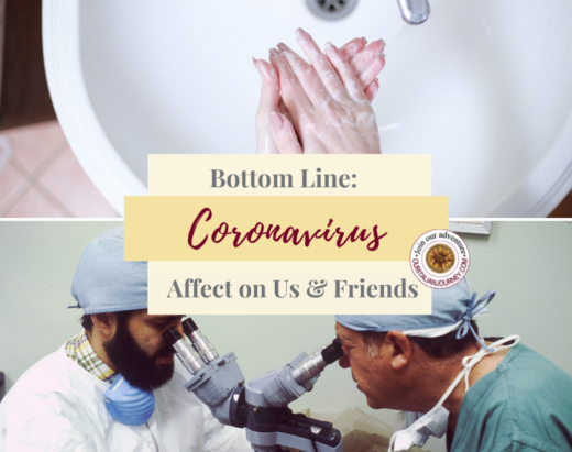 Coronavirus and your travel plans, Italy, the United States, a pandemic health event, news, https://ouritalianjourney.com/coronavirus-effect-us-travel-italy
