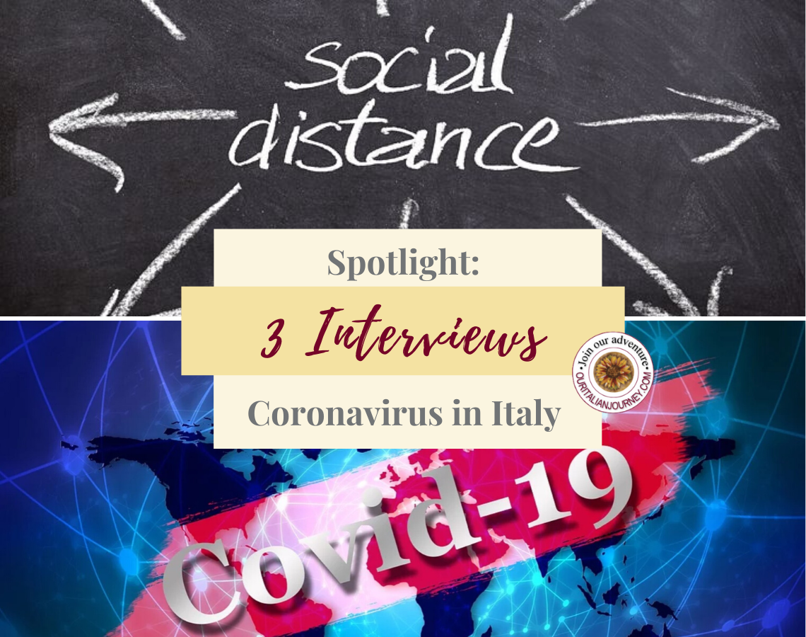 Our Interview with people living in Italy. Answers to our questions. ouritalianjourney.com, https://ouritalianjourney.com/3-interviews-from-italy-regarding-coronavirus