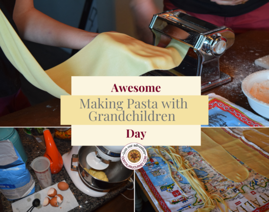 Making fresh pasta with family is a special day. ouritalianjourney.com