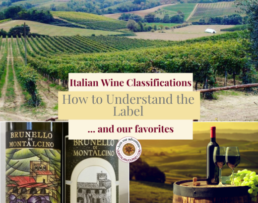 Italian wine, understanding the label and regions. ouritalianjourney.com - https://ouritalianjourney.com/italian-wine-classifications-how-to-understand-the-label