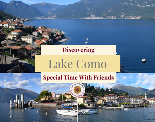 Beautiful Lake Como and the towns that surround the lake. ouritalianjourney.com