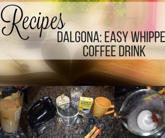 how to make easy whipped espresso coffee drink called Dalgona. ouritalianjourney.com