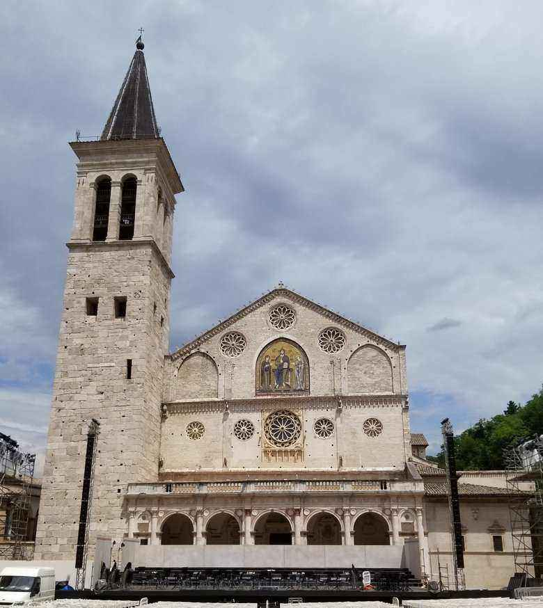 Spoleto in Umbria Italy a non Tourism town. ouritalianjourney.com