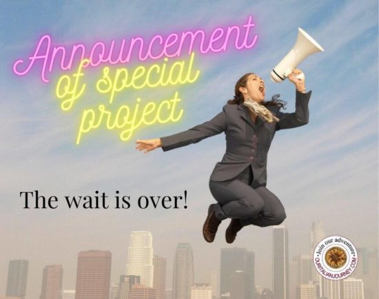 Announcement Secret Project - the Wait is Now Over! Ilene & Gary Modica, ouritalianjourney.com