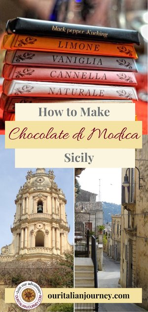 How to make Modica chocolate from Sicily, Italy ouritalianjourney.com
