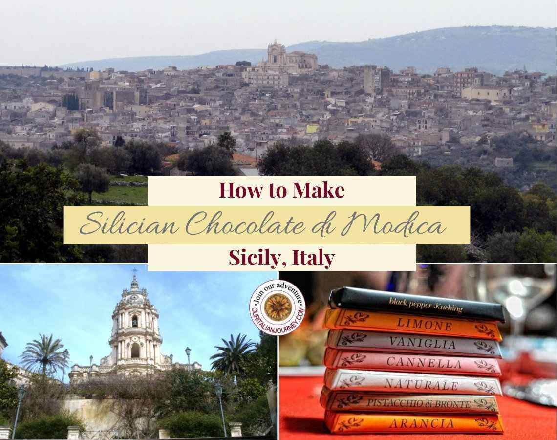How to make Modica chocolate from Sicily, Italy. ouritalianjourney.com