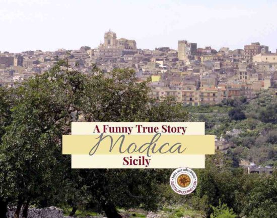 Modica, Sicily: Discover the beauty and our funny true story. ouritalianjourney.com