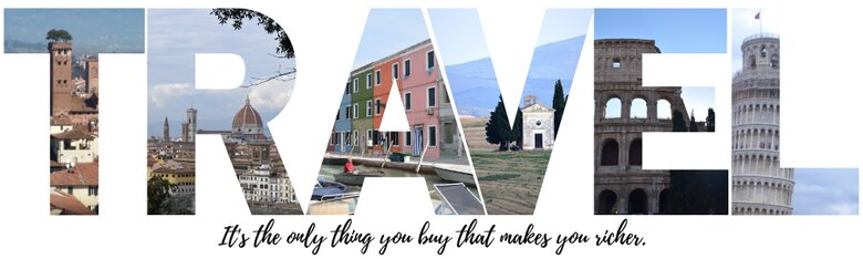 Travel is the only thing you can buy that makes you richer. ouritalianjourney.com
