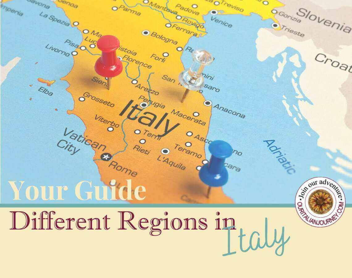 Your guide to different regions in Italy, ouritalianjourney.com https://ouritalianjourney.com/your-guide-to-the-different-regions-in-italy/