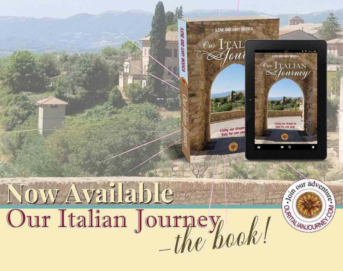 Our Italian Journey - the book now available, ouritalianjourney.com