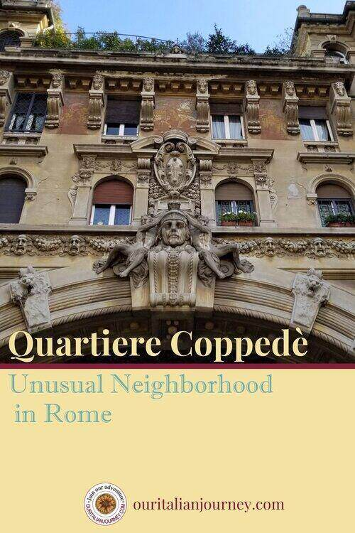 Quartiere Coppede in Rome is a fairytale neighborhood. ouritalianjourney.com