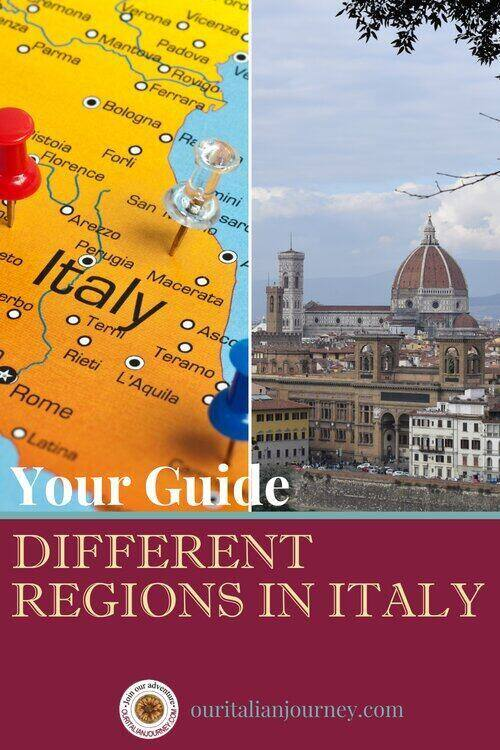 Your guide to different regions in Italy, ouritalianjourney.com