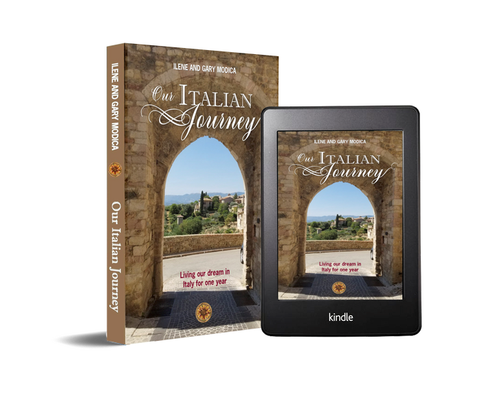 Our Italian Journey the book, ouritalianjourney.com
